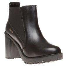 FIRETRAP Womens Queenie Boots Black Size UK 7 Ladies/Shoes/Fashion/High/Heel/NEW