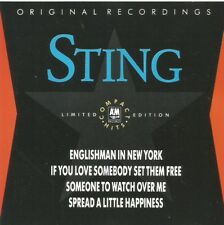 Sting - Compact Hits 1988 limited edition CD single
