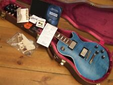 ** Gibson Les Paul 59 REISSUE r9 vos Custom Shop Aqua Blue **