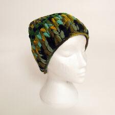 Hand Knitted Winter Woollen Crochet Beanie Hat, One Size, UNISEX CH0