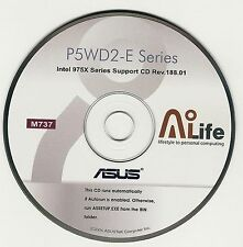 ASUS P5WD2-E PREMIUM Motherboard Drivers Installation Disk M737