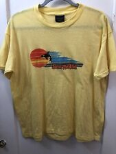Vintage Large to XL 1980s Sea World Shamu San Diego Touch of Gold T-Shirt 1981
