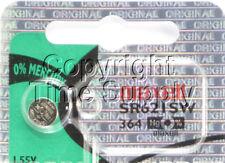 Maxell 364 SR621SW SR621 28034 LR621 AG1 Battery 0% MERCURY ( 1 PC )