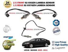 pour LEXUS GS450H 2gr-fse 2005-2011 2 AVANT + arrière 02 Oxygen Capteur Lambda