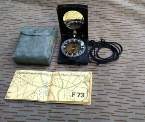 NVA Marschkompass Kompass F73 gest.NVA Offizier Felddienst Grenze Armee DDR