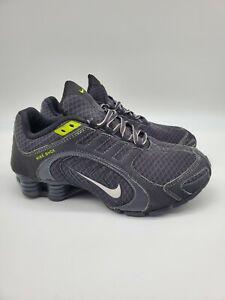 Nike Shox Navina Black,Grey,Neon Green Accents Womens Shoe Size 8