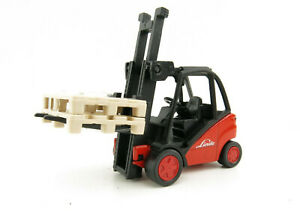Siku 1722 - Linde Forklift Truck Diecast - 1:50 Scale New in Box
