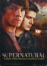 Inkworks Supernatural Season 3 Complete 81 Card Base Set