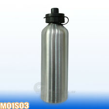 1pc Stainless Steel Water Bottle Sport Outdoor Training Drink Kettle Gym Camping