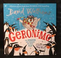 Geronimo: The Penguin who thought he could fly! by Walliams, David Book The