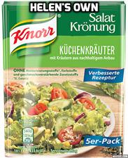 Knorr mezcla de aderezo para ensaladas hierba de cocina de Alemania 5 X 10g Sobres Free UK Post