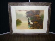 Original Boat Painting by Cohn