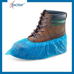 Copriscarpe monouso in PE impermeabili elastico alla caviglia 100/1000/2000 pz