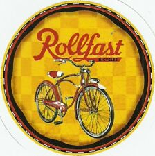 ROLLFAST  BICYCLE BIKE  Sticker Decal