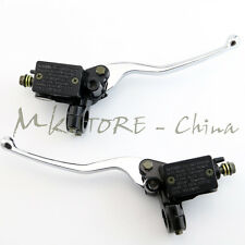 Motorcycle Hydraulic Brake Master Cylinder Clutch Lever Right Left Hand ATV