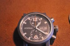 STEWAL CHRONO watch copia cal. 610  Valijoux 7750