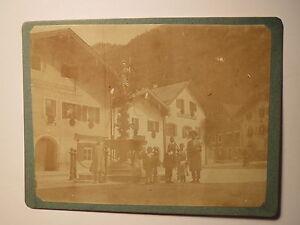 Floriansbrunnen in Bad Reichenhall im Urlaub Juni 1908 / KAB