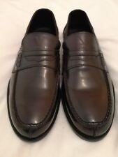 28f3d9a0ee2 Versace 1969 Abbigliamento sportivo SRL Penny Loafers Shoe Burgundy uk 7 eu  41