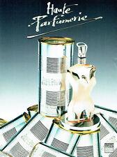 PUBLICITE ADVERTISING  016  1993  JEAN-PAUL GAULTIER eau de toilette femme
