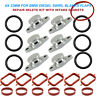 6X 33MM FOR BMW DIESEL SWIRL FLAP BLANKS REPAIR WITH INTAKE MANIFOLD GASKETS