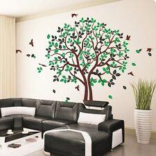 The HUGE Loving Tree Birds II Wall Stickers Decal Removable Art Vinyl Decor DIY Huge(h 250cm W 320cm)
