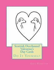 Scottish Deerhound Valentine's Day Cards : Do It Yourself by Gail Forsyth.