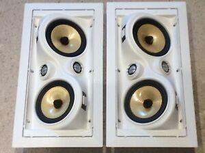 Speakercraft Aim Cinema Five  SELECTABLE DIPOLE/BIPOLE IN WALL SPEAKERS PAIR