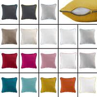 Plain 100% Cotton Panama Cushion Cover - 2 sizes, Assorted Colours