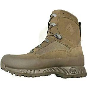 HAIX Boots Desert Combat High Liability Men's Brown UK 8 NEW #3165
