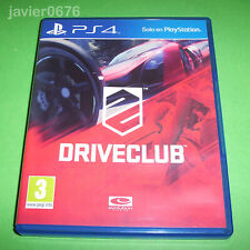 DRIVECLUB COMPLETO PAL ESPAÑA PLAYSTATION 4 PS4