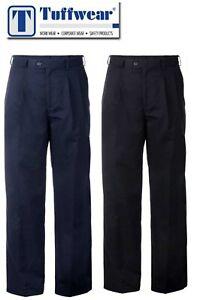 TUFFWEAR 1380 MEN'S P-PRESS TROUSER 50+UV  - Navy or Black