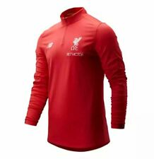 New Balance Liverpool Fc Mid Layer Football Training Top Red Lfc Official