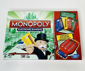 Monopoly Electronic Banking Game 2013 Hasbro New Open Box Complete Board Game