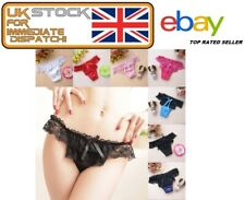 Sexy Women Lady Multi-Colour Floral Underwear Panties Butterfly Lace Knickers