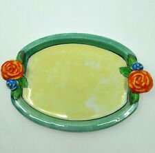 Japanese Ceramic Floral Plate Vintage Vgc