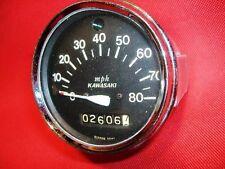 OEM Kawasaki J1 J1D J1L J1T J1TR speedo speedometer Nippon Seiki 80 mph 1965-68