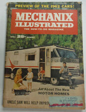 Mechanix Illustrated Magazine Motor Homes August 1961 WITH ML 050515R