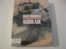 """Steel Thunder American Battle Tank Simulation new sealed PC game 3.5"""" disks"""