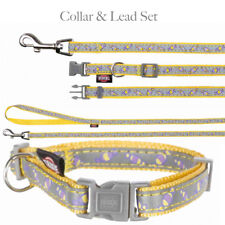 Trixie Puppy Toy Dog Fully Adjustable Collar & Lead Set highly reflective XS-S