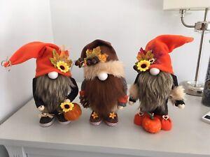 Autumn Fall Colour Home Decor Gnome Gonk