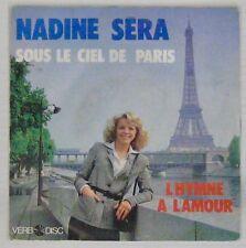 Tour Eiffel 45 tours Nadine Sera Sous le ciel de Paris