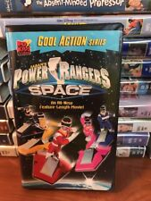 VHS Movie Tape: Power Rangers In Space