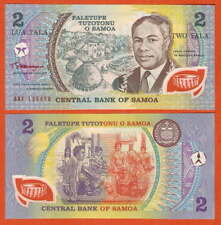 P31e   Samoa    2  Tala    1990   UNC  Präfix AAH