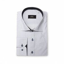 Men's Cotton Blend Collared Slim Check Casual Shirts & Tops