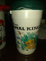 Vintage Walt Disney World Animal Kingdom The Lion King Popcorn Bucket with lid
