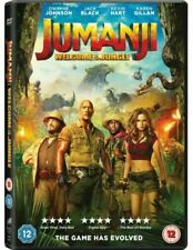 Jumanji: Welcome To The Jungle new and sealed (2018) DWAYNE JOHNSON DVD  wx
