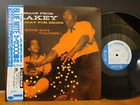ART BLAKEY - HOLIDAY FOR SKINS Blue Note Donald Byrd Ray Barretto Art Taylor LP!