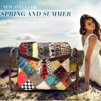 Women Genuine Leather Handbag Shoulder Bag Travel Crossbody Messenger Tote Purse