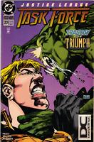 Justice League Task Force Vol 1 #23 (DCU Logo Variant) DC Comics 1995 VF/NM