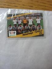 1986 World Cup Stamp: Nanumea-Tuvalu - Bulgaria Team